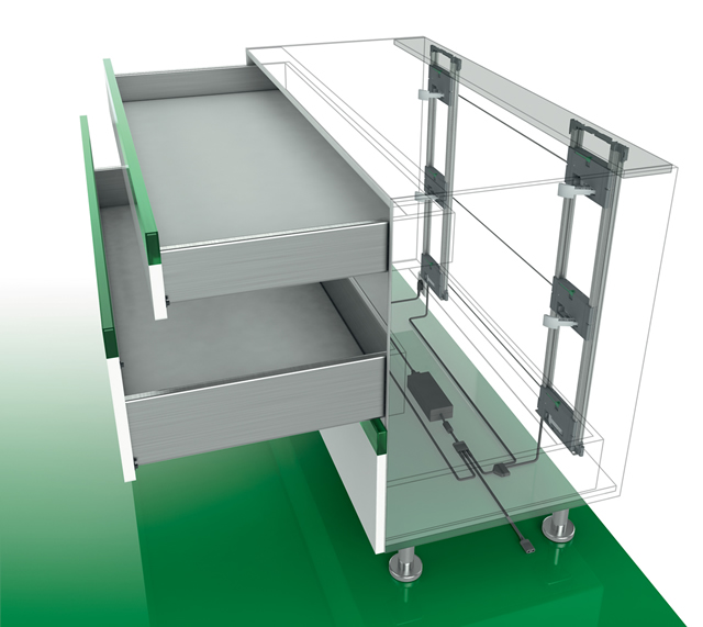 Sensomatic Drawer System